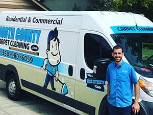 Residential and commercial carpet cleaning in Vancouver WA